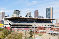 Ruée de Calgary Photos stock