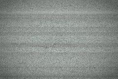 Ruído branco da televisão Foto de Stock Royalty Free
