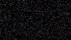 Ruído de piscamento do cátodo de Digitas RGB ilustração do vetor