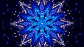 Ruído do Fractal e calidoscópico Teste padrão feito com sistema da partícula prisma do espelho que cria o efeito do brinquedo, co fotos de stock royalty free