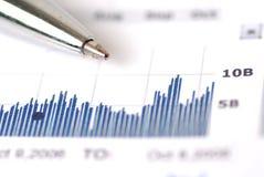 Ruído elétrico de mercado de valores de acção Fotos de Stock