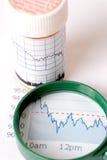 Ruído elétrico de mercado de valores de acção Imagem de Stock Royalty Free