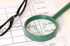 Ruído elétrico de mercado de valores de acção Foto de Stock