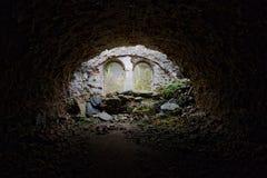 Ruína abandonada das fortificações Foto de Stock