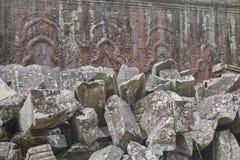 Ruína Angkor Wat, Siem Reap, Camboja Imagens de Stock