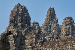 Ruína Angkor Wat, Siem Reap, Camboja Fotos de Stock