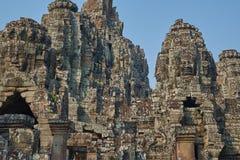 Ruína Angkor Wat, Siem Reap, Camboja Fotos de Stock Royalty Free