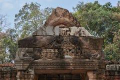 Ruína Angkor Wat, Siem Reap, Camboja Fotografia de Stock Royalty Free