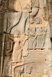 Ruína Angkor Wat, Siem Reap, Camboja Imagem de Stock