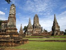 Ruína antiga do templo Imagens de Stock Royalty Free