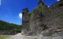 Ruína, castelo velho Fotografia de Stock