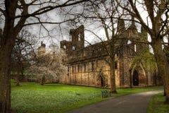 Ruína da abadia de Kirkstall Imagem de Stock Royalty Free
