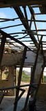 Ruína da caserna do exército em En Gedi, Israel Imagens de Stock Royalty Free