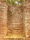 Ruína da pedra velha do tijolo vermelho Imagens de Stock Royalty Free