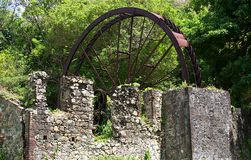 Moinho de açúcar velho perto de Speyside, Tobago Imagens de Stock