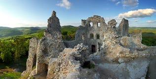 Ruína do castelo Fotografia de Stock