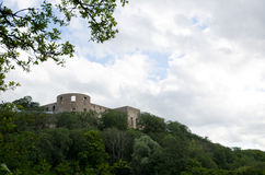 Ruína do castelo Fotos de Stock