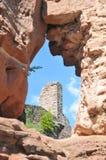 Ruína do castelo de Grafendahn Foto de Stock Royalty Free