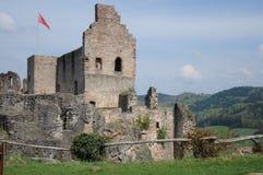Ruína do castelo de Hochburg Foto de Stock
