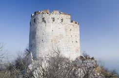 Ruína do castelo gótico Imagem de Stock