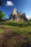 Ruína do castelo Hrusov Imagem de Stock