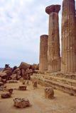 Ruína do grego Fotografia de Stock