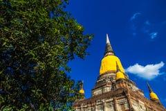 Ruína do pagode Foto de Stock Royalty Free