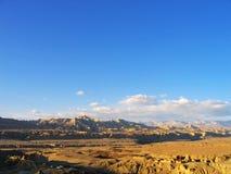A ruína do reino de Guge Foto de Stock