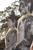 Ruína do templo antigo de buddha em Tailândia Foto de Stock