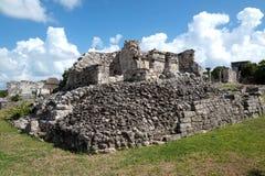 Ruína maia de Tulum, México Foto de Stock Royalty Free