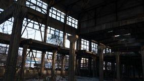 Ruínas abandonadas Foto de Stock Royalty Free