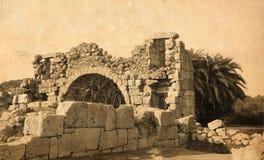 Ruínas antigas. imagem de stock