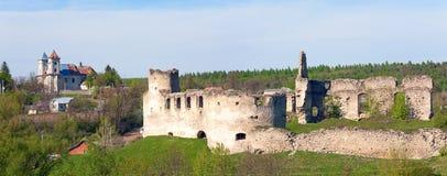 Ruínas antigas da fortaleza Fotografia de Stock Royalty Free