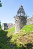 Ruínas antigas da fortaleza Fotos de Stock