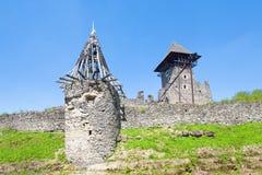 Ruínas antigas da fortaleza Fotografia de Stock