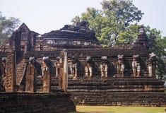 Ruínas antigas de Ásia Imagem de Stock Royalty Free