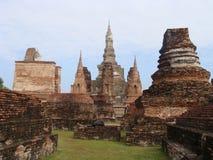 Ruínas antigas de Sukhothai Imagens de Stock Royalty Free