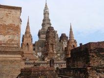 Ruínas antigas de Sukhothai Fotografia de Stock Royalty Free