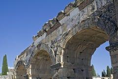 Ruínas antigas de Turquia Imagem de Stock Royalty Free