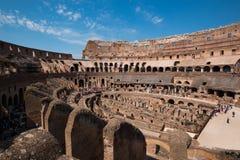 Ruínas antigas do coliseu em Roma Foto de Stock