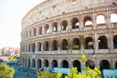 Ruínas antigas do coliseu em Roma Imagem de Stock Royalty Free