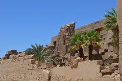 Ruínas antigas do templo foto de stock