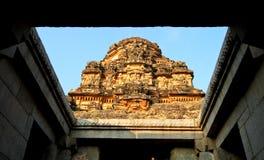 Ruínas antigas do templo em Hampi, India Fotografia de Stock Royalty Free
