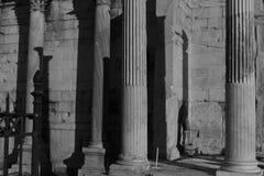 Ruínas antigas em Atenas Imagens de Stock Royalty Free
