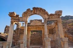 Ruínas antigas em Ephesus Turquia Fotografia de Stock Royalty Free