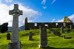 Ruínas antigas em scotland Fotografia de Stock