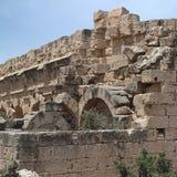 Ruínas antigas em Tolemaide Foto de Stock