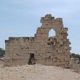 Ruínas antigas em Tolemaide Foto de Stock Royalty Free