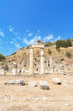 Ruínas antigas maravilhosas em Ephesus, Turquia Fotografia de Stock Royalty Free