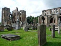 Ruínas antigas, túmulos, castelo arruinado Imagem de Stock Royalty Free
